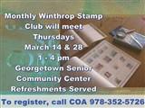 COA Monthly Winthrop Stamp Club