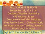 FALL HARVEST FESTIVAL  September 28, 12 - 5 pm  Outdoors/Weather Permitting  435 Andover Street ...