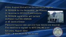 2020-07-31 Town Hall