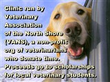 Clinic run by  Veterinary  Association  of the North Shore  (VANS), a non-profit  org of...