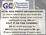 ATTN: NON-PROFIT ORGANIZATIONS  Is there information you want the  public to know about your...