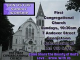 First Congregational Church Sunday Service