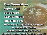 COA Birthday
